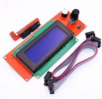 Display Controladora Lcd 20x4 para Impressora 3d - RepRep SD