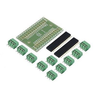 Placa de Expansão para Arduino Nano (Desmontada)
