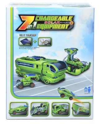 Kit Robô Solar 7 em 1 - Recarregável