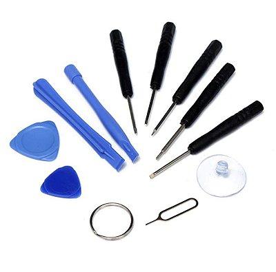Kit Chaves 11 Peças - Para Abrir Celulares