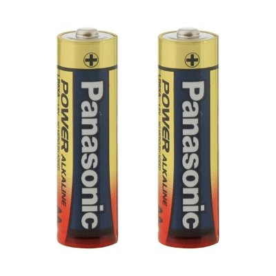 Pilha AA 1,5V Panasonic Alcalina (par)