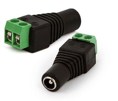 Conector Adaptador Plug P4 Femea com Borne