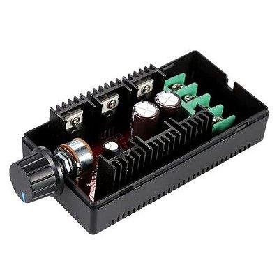 Controlador De Velocidade PWM 50V 40A 200W - Com Potenciometro