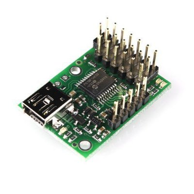 Micro Maestro Controlador de 6 Servos via USB