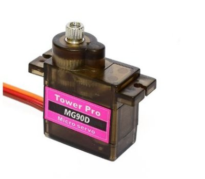 Micro Servo Motor Tower Pro MG90D Metal Gear 360º