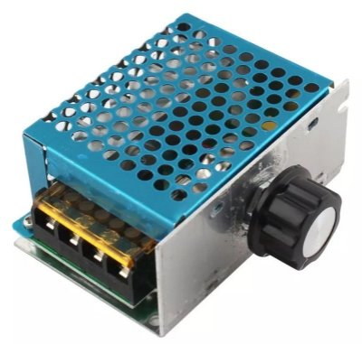 Dimmer Regulador de Tensão e Controle de Velocidade - 220V 4000W