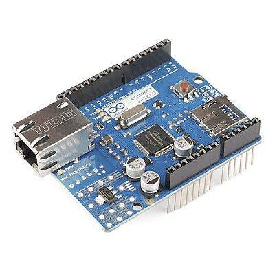 Ethernet Shield W5100 para Arduino - Modelo Novo