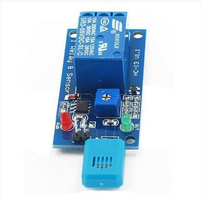 Módulo Sensor de Umidade do Ar com Acionamento a Relé 5V