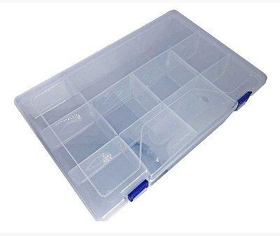 Caixa Organizadora Transparente - 10 SLOT