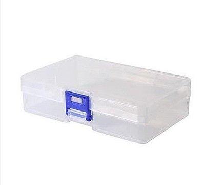 Mini Caixa Organizadora Transparente - Sem Divisórias