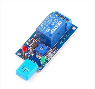Módulo Sensor de Umidade do Ar com Acionamento a Relé 12V