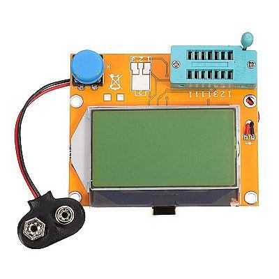 Módulo Testador de Componentes - Medidor ESR LCR-T4