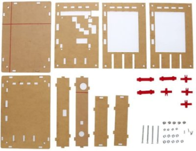 Case em Acrílico para Osciloscópio Digital DSO138 DIY
