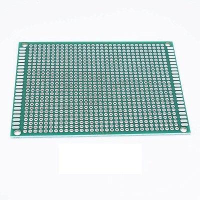 Placa Circuito Impresso Ilhada 6x8cm (Dupla Face)