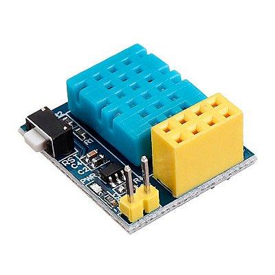 Adaptador DIP para ESP8266 ESP-01 com DHT11