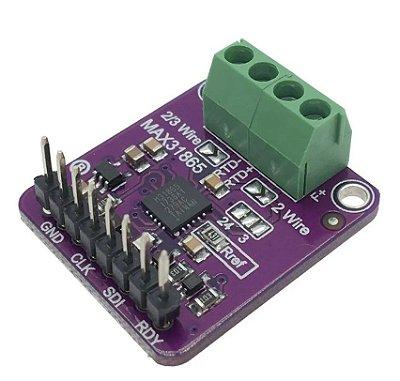 Módulo Sensor de Temperatura PT100 MAX31865