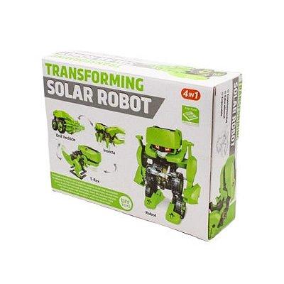 Kit Robô Solar 4 em 1