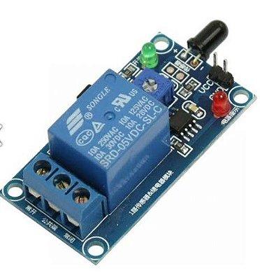 Módulo Sensor de Chama/Fogo com Relé 5V