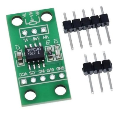 Módulo Potenciômetro Digital 10K - X9C103S