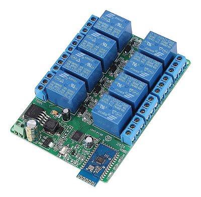 Módulo Bluetooth com Relé 8 Canais BLE 4.0
