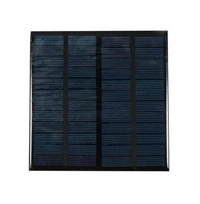 Painel Solar Fotovoltaico 6V/3W 500mAh