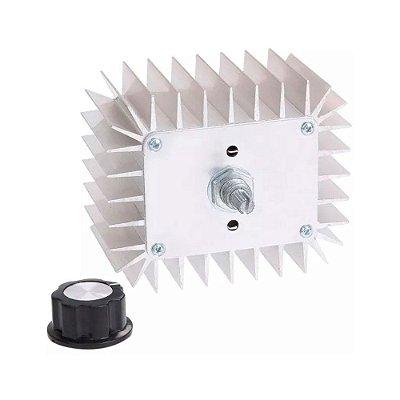 Módulo Dimmer AC SCR Metálico 220V 5000W