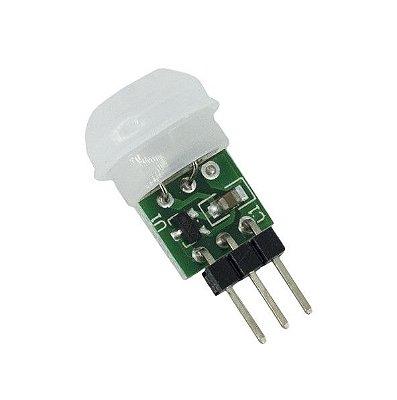Mini Sensor de Movimento e Presença PIR HC-SR505
