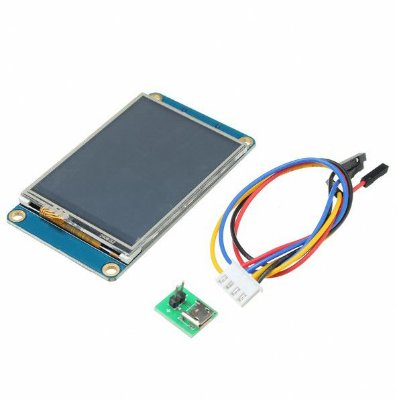 Display Serial Touch 2.4″ 320×240 IHM Nextion