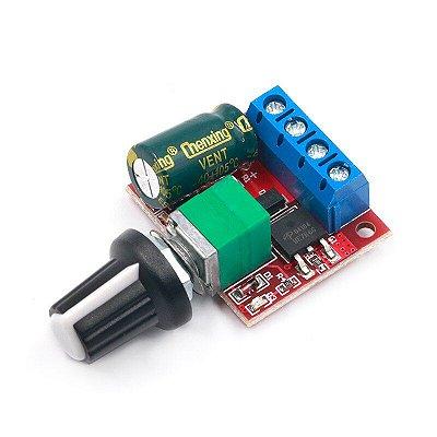 Mini Controlador de Velocidade PN35 4,5-35V 5A PWM