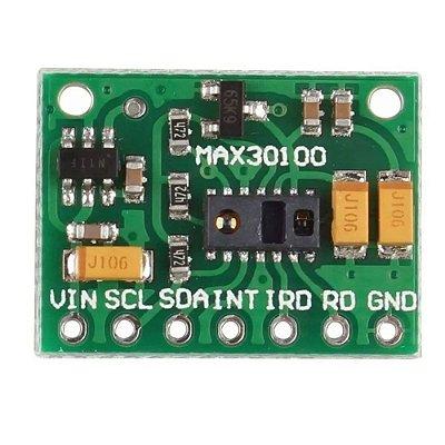 Sensor de Frequência Cardíaca Oxímetro MAX30100