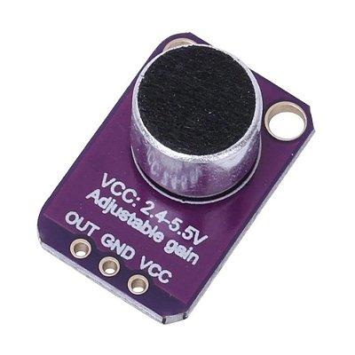 Módulo Amplificador Microfone - GY-MAX4466