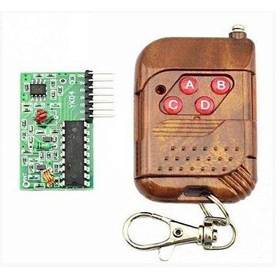 Controle Remoto RF + Receptor RF 315Mhz