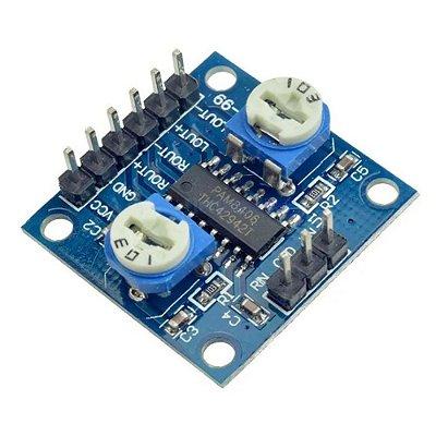Módulo Amplificador de Som Estéreo PAM8406