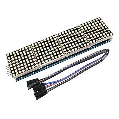 Módulo 4 Matrizes de LED 8x8 com MAX7219
