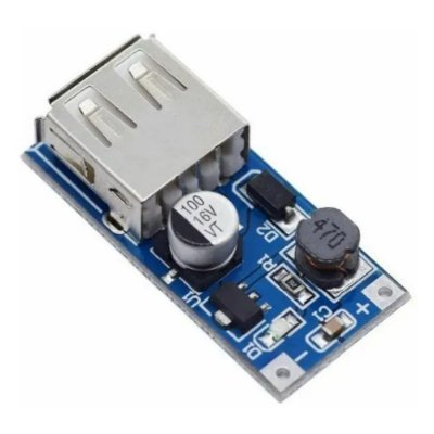 Módulo Conversor USB Step Up - 0,9V-5V