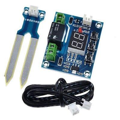 Controlador de Umidade do Solo com Relé - XH-M214