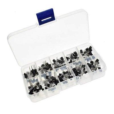 Kit Transistores - 200 unidades / 10 valores