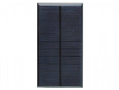 Mini Painel Solar Fotovoltaico 5,5V/2W - 350mA