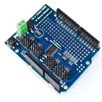 Shield Servo Motor - 16 Canais para Arduino