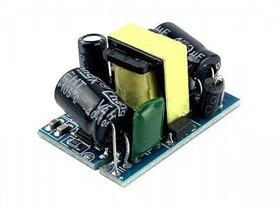 Mini Fonte Aberta AC/DC 100 a 220V AC para 5V DC