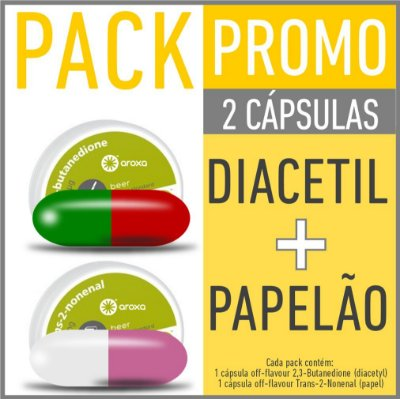 OFF FLAVOUR / PACK DIACETIL (CÓD. 01) + PAPELÃO (CÓD. 02)