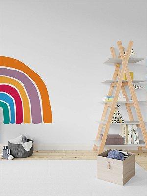 Adesivo de parede arco-íris