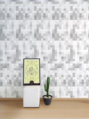 Papel de Parede Adesivo Pixel Off