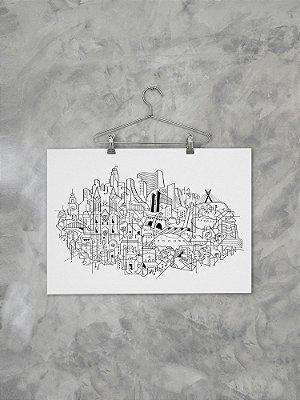 Poster Skyline releitura SP