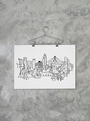 Poster Skyline SP