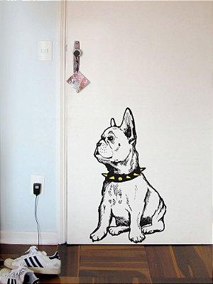 Adesivo de parede Bulldog 2