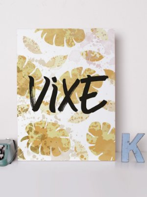 Placa decorativa  Vixe