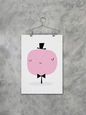 Poster Árvore Rosa