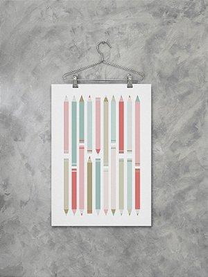 Poster Lápis de cor
