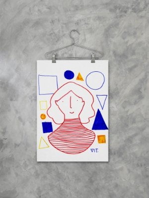 Poster Bau-haus